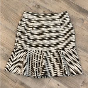 Banana Republic Fluted mini skirt